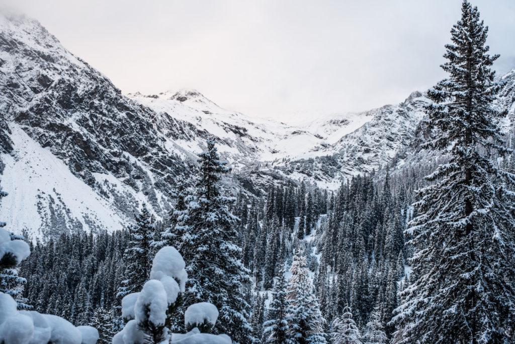 Arosa Winter Aussicht