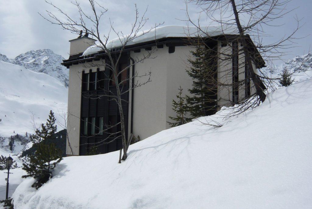 Aussenansicht Ferienhaus Innerarosa
