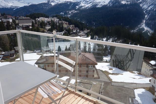 Ferienwohnung Viktoria 34 Balkon