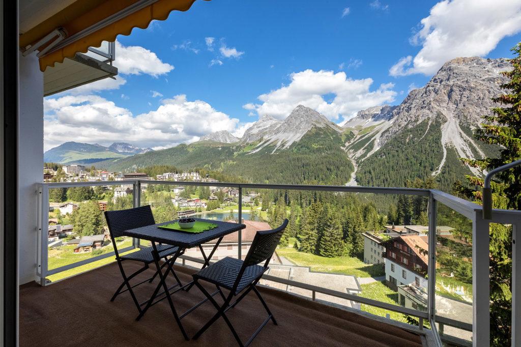 Balkon Ferienwohnung Viktoria B26 eve-adams-ferienparadies