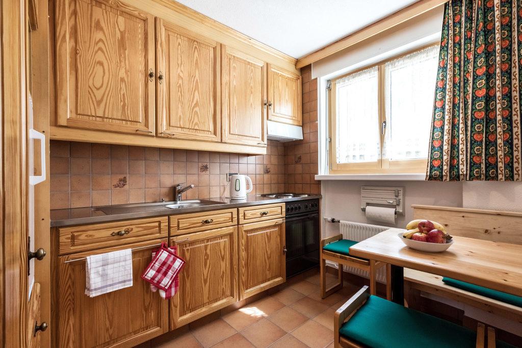 Küche Ferienwohnung Arosa